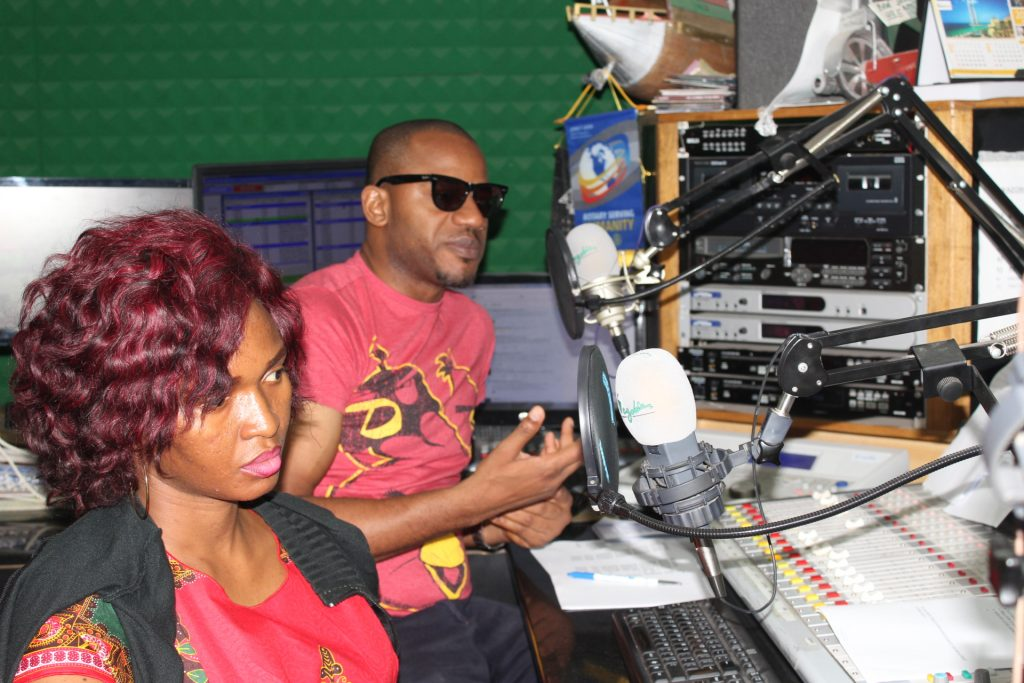 Big Mo and Keneri of Wazobia FM