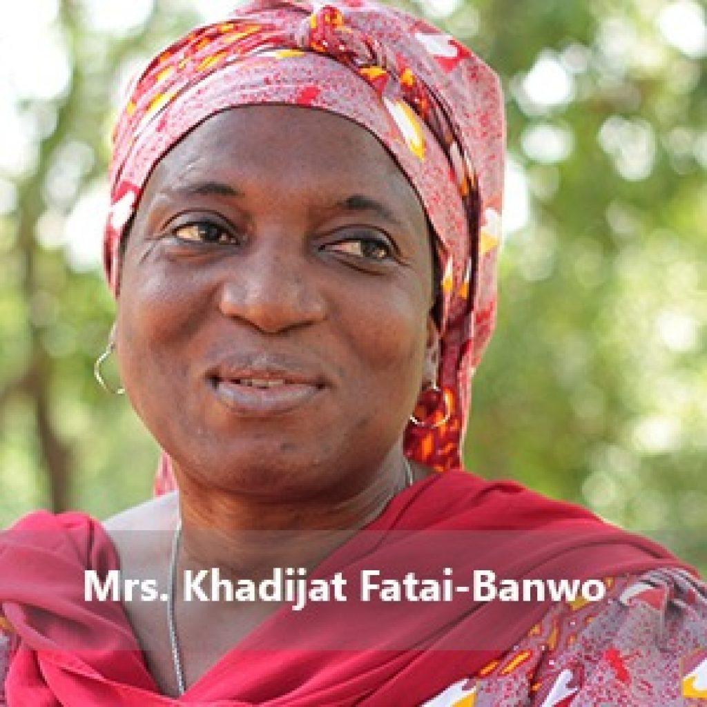 Mrs Khadijat